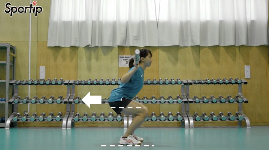 スクワットジャンプの効果的なやり方